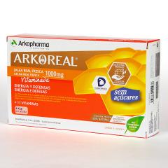 Arko Real Jalea Real Vitaminada Sin Azúcares 20 ampollas
