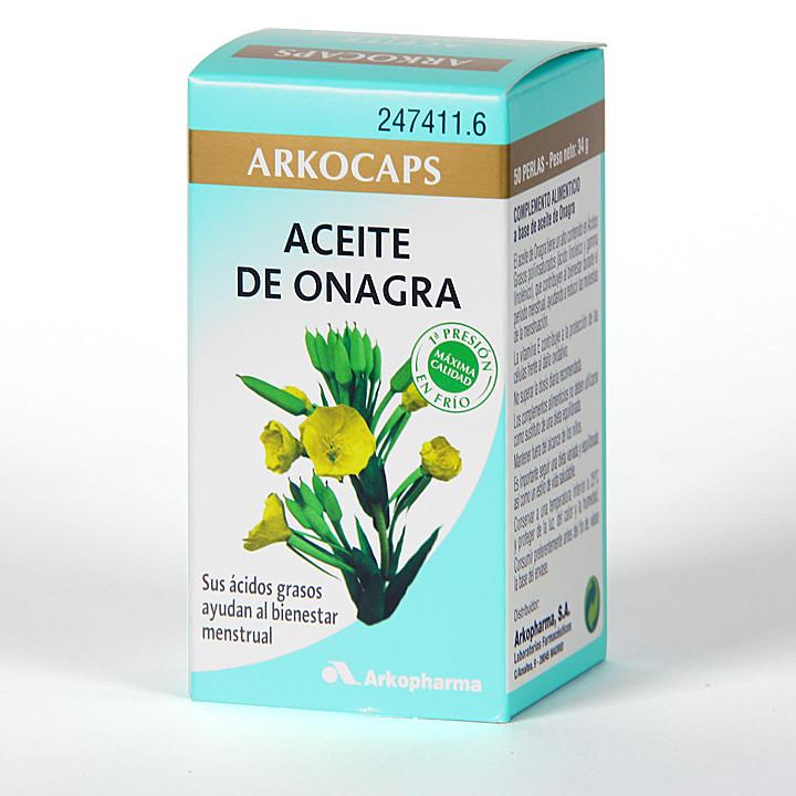Arkocapsulas Aceite de Onagra 50 cápsulas