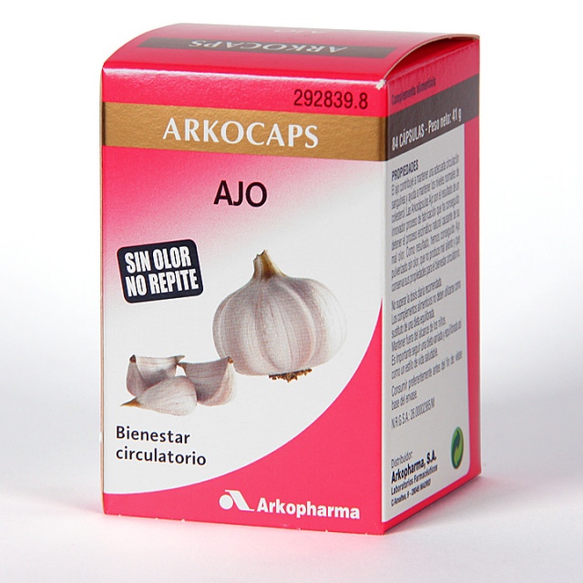 Arkocapsulas Ajo 84 cápsulas