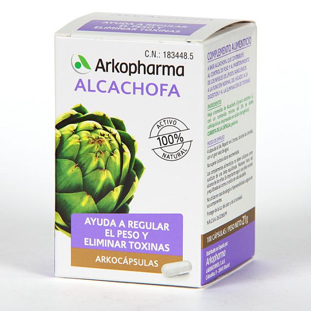 Arkopharma Alcachofa 100 cápsulas