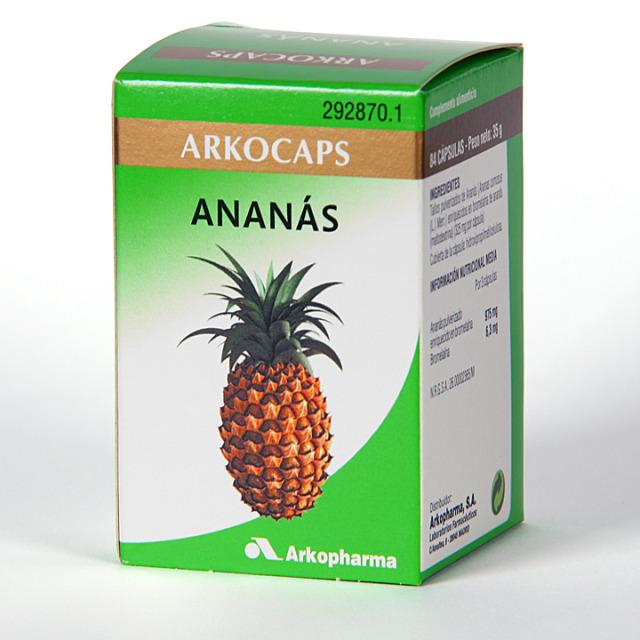 Arkocapsulas Ananás 84 cápsulas