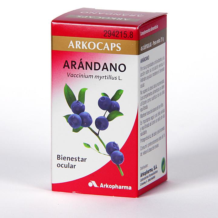 Arkocapsulas Arándano 45 cápsulas