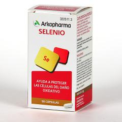 Arkopharma Selenio 50 cápsulas