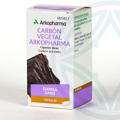 Arkopharma Carbón Vegetal 50 cápsulas