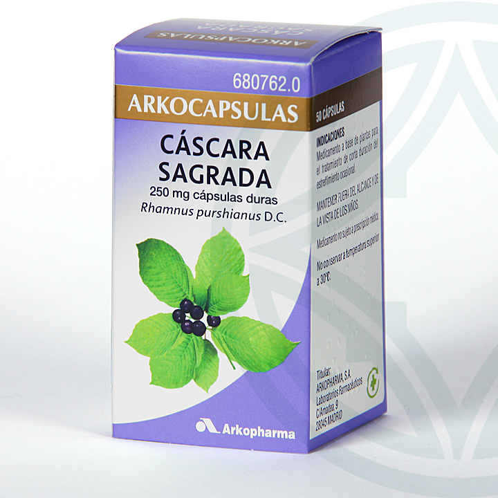 Arkocapsulas Cáscara Sagrada 50 cápsulas