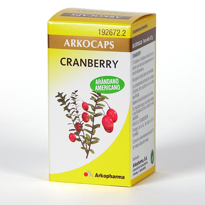 Arkocapsulas Cranberry 50 cápsulas