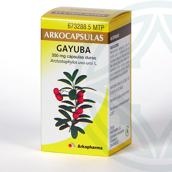 Arkocapsulas Gayuba 48 cápsulas