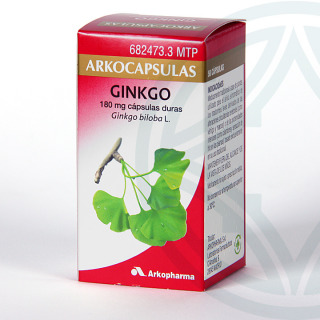 Arkocapsulas Ginkgo Biloba 50 cápsulas