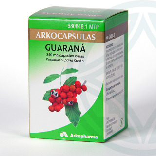 Arkocapsulas Guaraná 100 cápsulas