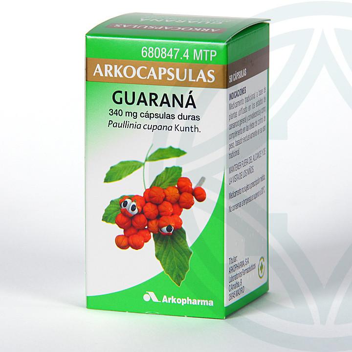 Arkocapsulas Guaraná 50 cápsulas