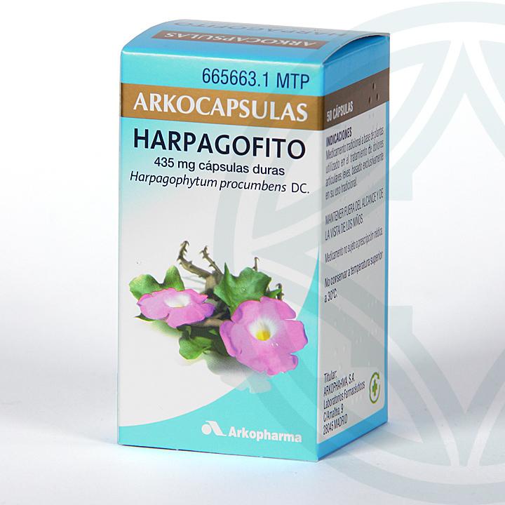 Arkocapsulas Harpagofito 50 cápsulas
