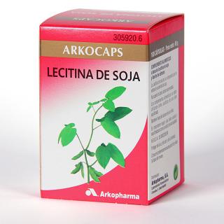 Arkocapsulas Lecitina de Soja 100 cápsulas
