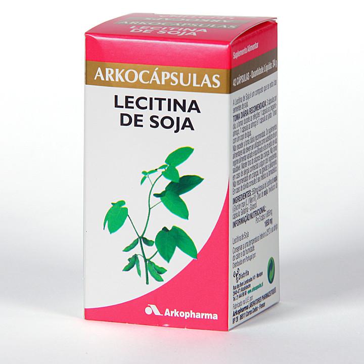Arkocapsulas Lecitina de Soja 42 cápsulas