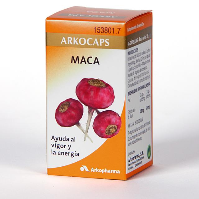 Arkocapsulas Maca 45 cápsulas