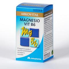 Arkocapsulas Arkovital Magnesio + Vitamina B6 30 cápsulas