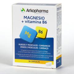 Arkopharna Arkovital Magnesio + Vitamina B6 30 cápsulas