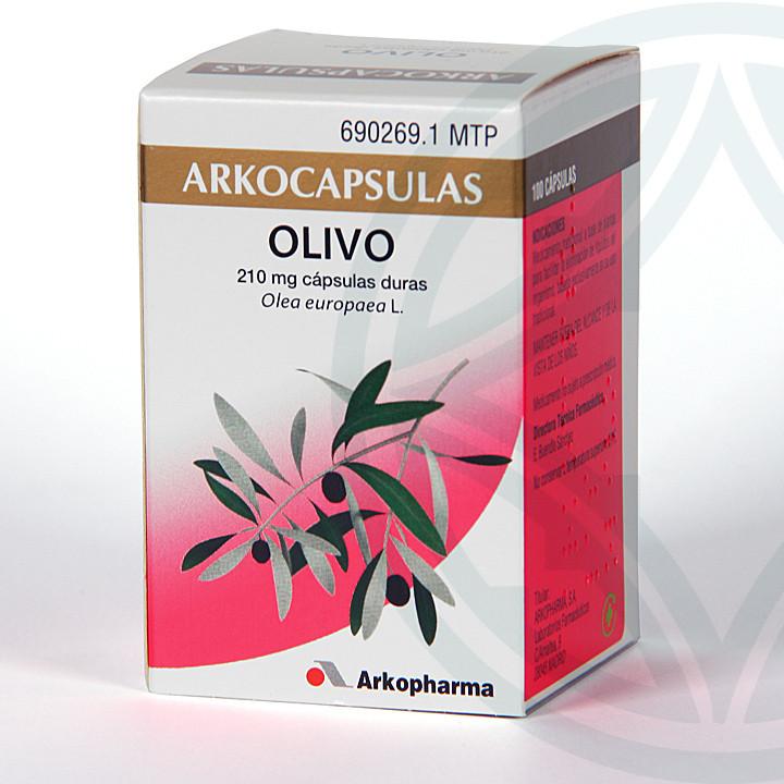 Arkocapsulas Olivo 100 cápsulas