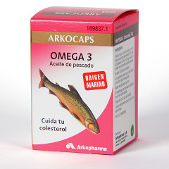 Arkocapsulas Omega 3 Aceite de Pescado 100 Perlas