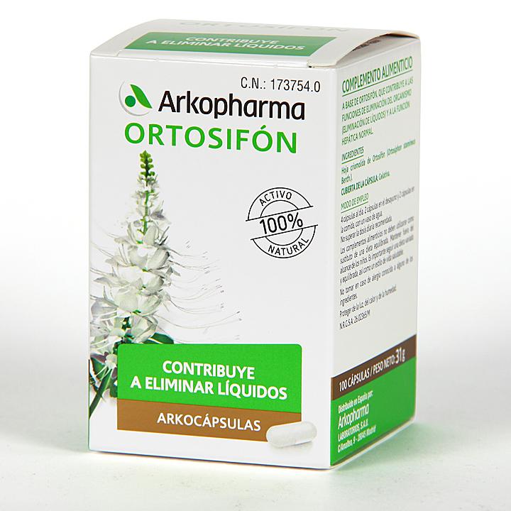Arkopharma Ortosifón 100 cápsulas