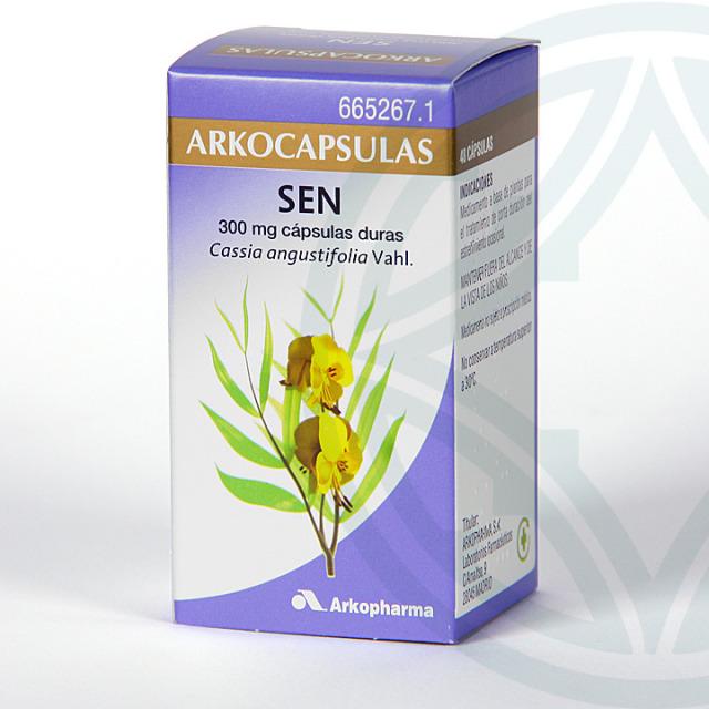 Arkocapsulas Sen 48 cápsulas