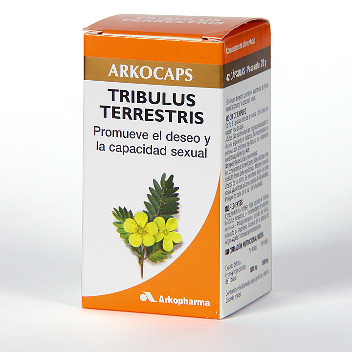 Arkocapsulas Tribulus Terrestris 42 cápsulas