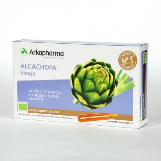 Arkopharma Alcachofa Hinojo 20 ampollas bebibles