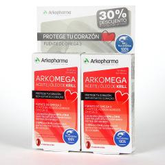 Arkopharma ArkoMega Krill 15 Cápsulas Pack Duplo