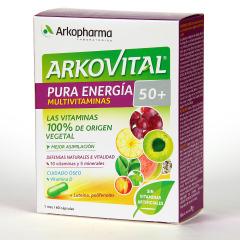 Arkopharma Arkovital 50+ Pura Energía Multivitaminas 60 comprimidos