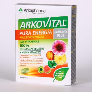 Arkopharma Arkovital Inmuno Plus Pura Energía Multivitaminas 30 comprimidos