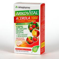 Arkovital Acerola 1000 Vitamina C Natural 30 comprimidos