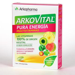 Arkovital Pura Energía Multivitaminas 30 comprimidos