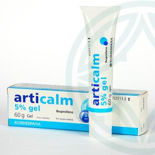 Articalm 50 mg/g gel tópico 60 g