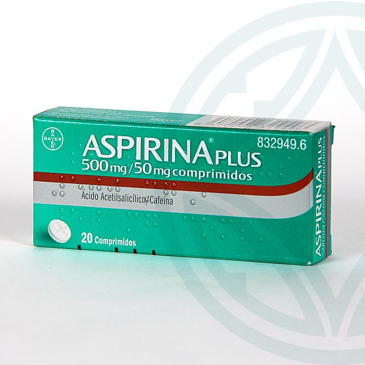 Aspirina Plus 20 comprimidos