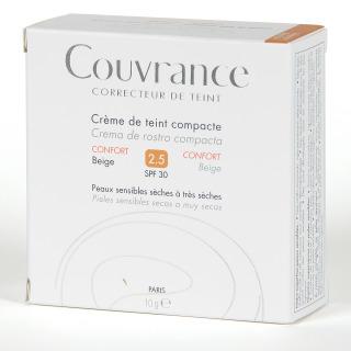 Avene Couvrance Crema Compacta Confort Beige 2.5