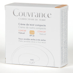 Avene Couvrance Crema Compacta Confort Natural 02