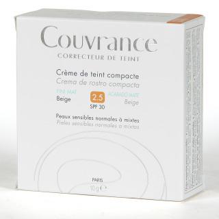 Avene Couvrance Crema Compacta Oil-free Beige 2,5 spf 30