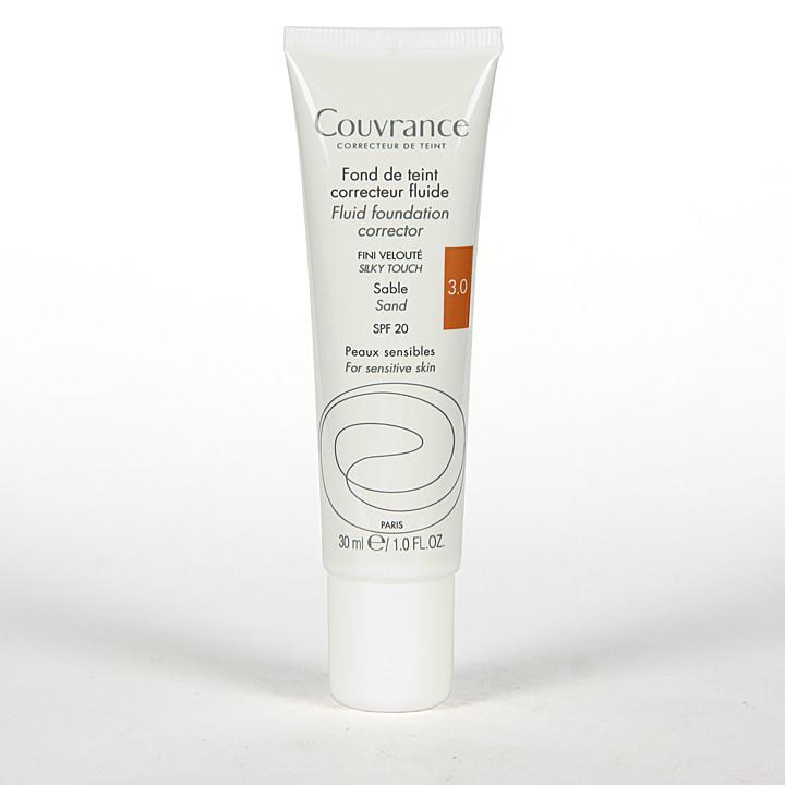 Avene Couvrance Maquillaje Fluido Oil-free Arena spf 20 30 ml