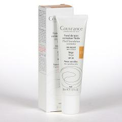 Avene Couvrance Maquillaje Fluido Oil-free Beige spf 20 30 ml