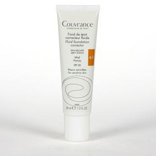 Avene Couvrance Maquillaje Fluido Oil-free Miel spf 20 30 ml