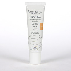 Avene Couvrance Maquillaje Fluido Oil-free Natural spf 20 30 ml