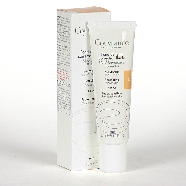 Avene Couvrance Maquillaje Fluido Oil-free Porcelana spf 15 30 ml