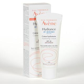 Avene Hydrance UV Crema Rica 40 ml PACK Fluido desmaquillante 3 en 1 de regalo