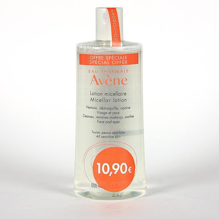 Avene Loción Micelar Limpiadora y Desmaquillante 500 ml