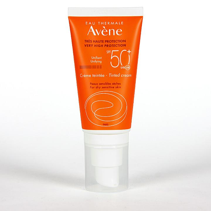 Avene Solar Crema coloreada SPF 50+ 50ml