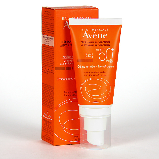Avene Solar Crema coloreada SPF 50+ 50ml