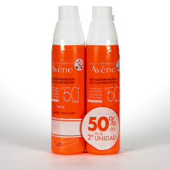 Avene Solar Spray Corporal 200 ml Pack Duplo 50% 2º unidad