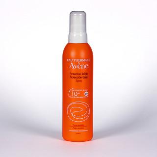 Avene Solar Spray SPF 10 Cara y Cuerpo 200 ml