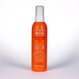 Avene Solar Spray SPF 20 Cara y cuerpo 200 ml