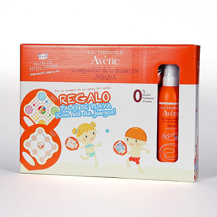 Avene Solar Spray SPF 50+ Especial niños Cara y cuerpo 200 ml