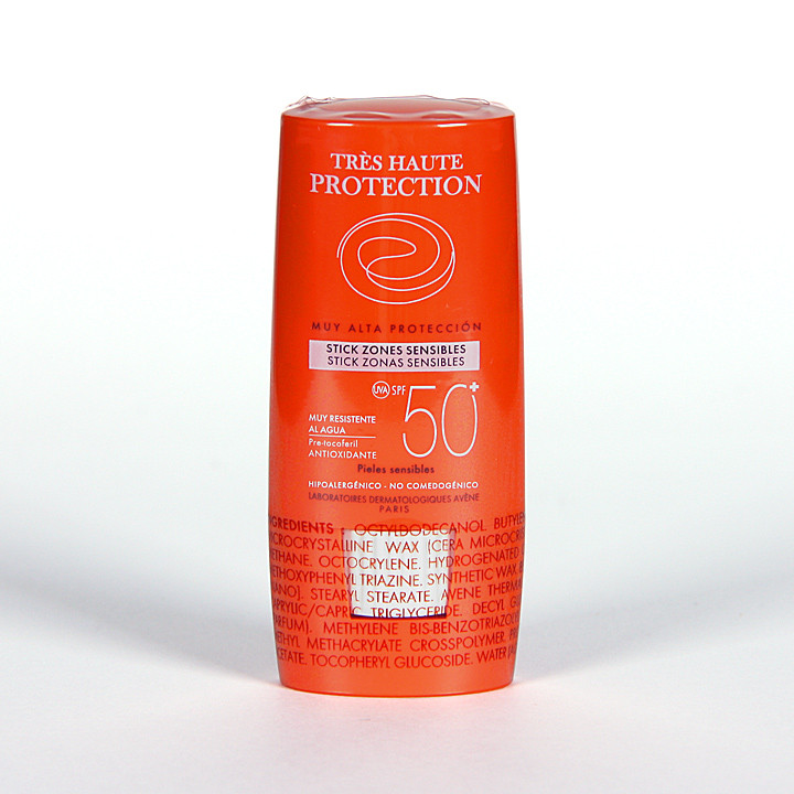Avene Solar Stick SPF 50+ zonas sensibles 8 g